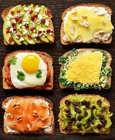 Fancy Breakfast Toasts 21 Easy Brunch Dishes Even The Most Hungover Person Could Make Breakfast Toast, Breakfast Recipes, Breakfast Ideas, Brunch Recipes, Healthy Filling Breakfast, Banana Breakfast, Recipes Dinner, Snack Recipes, Healthy Snacks