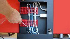 Recoil Power Maze | No More Mess Under Your Desk by David Alden — Kickstarter Cord Organization, Maze, Desk, David, Desktop, Table Desk, Labyrinths, Office Desk, Desk Office