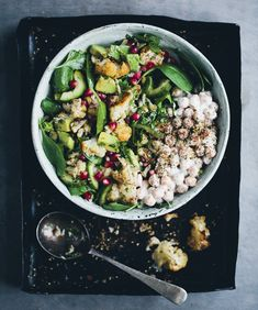 Roasted Cauliflower Za'atar Salad
