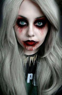 Halloween make-up❤️ answer to infertility http://bit.ly/iamnaturall  ✿. ☻ ☺