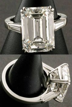 Please post Emerald Cut Diamond photos. - PurseForum                                                                                                                                                                                 More