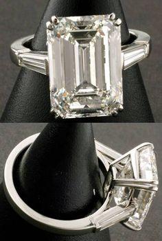 Please post Emerald Cut Diamond photos. - PurseForum                                                                                                                                                                                 More