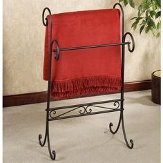 Messina Wrought Iron Blanket Rack