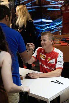 Kimi Raikkonen is friendlier than you think!