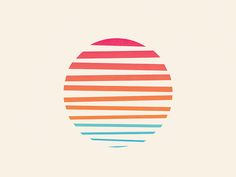 Minimal Sunset by Josh Warren