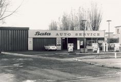 Bata Auto Garage in East Tilbury ca. Bata Shoes, Bartlett School Of Architecture, Heritage Center, Tilbury, Car Garage, Elves, Vip, Cars, Modern