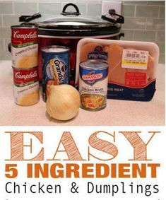 Ingredients:   3 boneless, skinless chicken breasts  2 Tbsp butter  2 cans cream of chicken soup  1 (14.5 oz) can of chicken broth  1/...