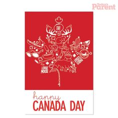 FREE Canada Day Card printout from Todays Parent! Canada Day Party, Canada Day 150, Canada For Kids, Happy Canada Day, O Canada, Canada Day Images, Canada Day Fireworks, Canada Day Crafts, Canadian Culture