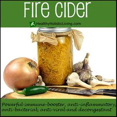 Mmmmmm…. how I love this hot and sweet, zesty, vinegary recipe! Fire Cider is a traditional cold remedy with deep roots in folk medicine. The tasty combination of vinegar infused with powerful immune-boosting, anti-inflammatory, anti-bacterial, anti-viral, decongestant, and spicy circulatory movers makes this recipe especially pleasant and easy to incorporate...More