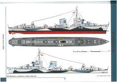 Armada, My Heritage, Poland, Camouflage, Ships, Military, Navy, History, War