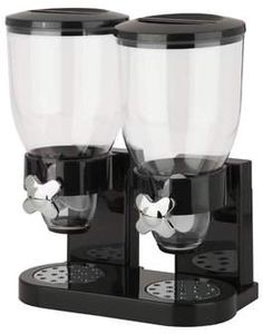 Zevro Double 2 Container Cereal Dispenser