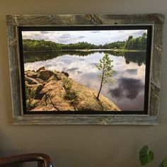 Art by Todd Jones of Muskoka Furniture, frame by me