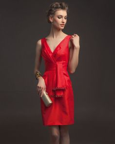 6 Stunning 2014 Red Bridesmaid Dresses by Aire Barcelona