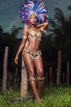 carnival in Trinidad Jamaica Carnival, Caribbean Carnival Costumes, Brazil Carnival, Trinidad Carnival, Carnival Dancers, Carnival Girl, Carnival Fashion, Carnival Outfits, Caribbean Queen