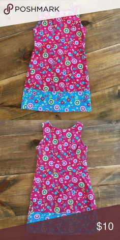"""Chez Belle Dress by Patsy Aiken Excellent condition. Approximately 12 1/2"""" across from armpit to armpit. Length from shoulder strap to bottom hem is approx. 24 3/4"""". Back zipper. 100% cotton. chez belle Dresses Casual"""