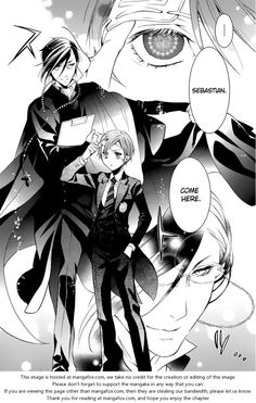 Kuroshitsuji 68: That Butler, Cleaning at MangaFox.me
