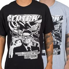 "Clutch+""Uncle+Ronnie""+T-Shirt+at+https://www.indiemerch.com/clutch/"