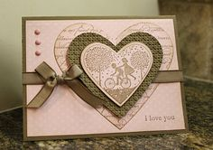 Just Julie B's Stampin' Space: A Pink Pirouette Valentine