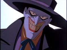 DCAU's Joker voiced by Mark Hamill.