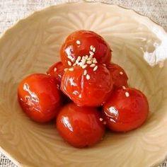 赤の常備菜★ミニトマトのポン酢マリネ by すみれ店主 [クックパッド] 簡単おいしいみんなのレシピが231万品