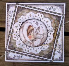Enjoy my SkogsTokiga creations: Skogstokigt Julkort nr.4 för 2013