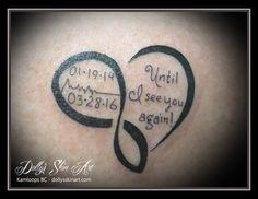 black heart until i see you again heartbeat memorial kamloops tattoo dolly's skin art