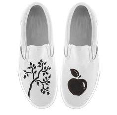 Canvas shoe paint idea