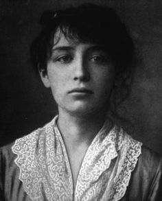 This picture represents Artist Camille Claudel in 1884.