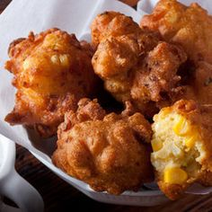 Crispy Corn Fritters — Recipe from Chow