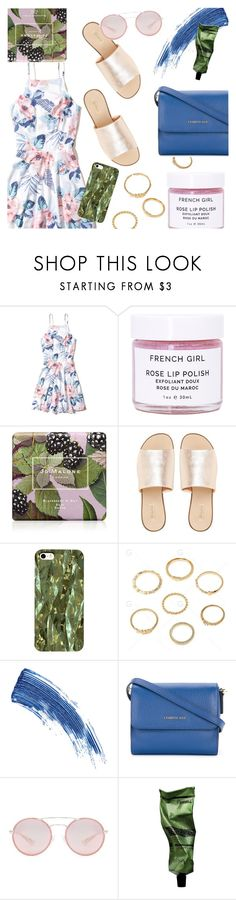 """Summer Daytime Outfit!"" by pricklypear ❤ liked on Polyvore featuring Hollister Co., French Girl, Jo Malone, L.E.N.Y., Eyeko, Cerruti 1881, Prada, Aesop and vintage"