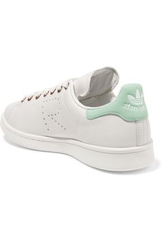 Shop on-sale adidas Originals + Raf Simons Stan Smith perforated leather  sneakers. Browse