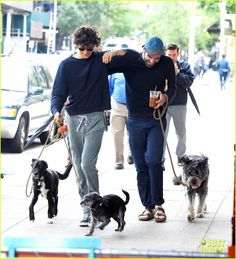Zachary Quinto & Miles McMillan Share Some Sweet PDA in NYC