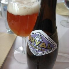Orval, another of Belgium's delicious trappist beers