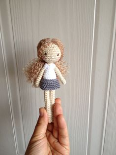 Crocheted doll