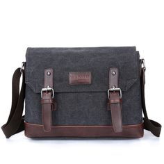 7213319a70 High quality business top selling canvas messenger bags men Canvas Shoulder  Bag