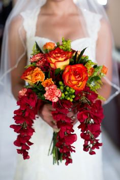 Intimate AZ Backyard Wedding | Fall Bouquet | Sadie Such Photography