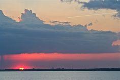 Ides of March sunset | Ross Barnett Reservoir | Brandon, Mississippi | Click image for more photos