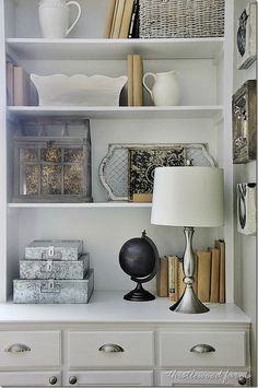 Stackable Galvanized Metal File Boxes (and a Giveaway)  Add a touch of industrial charm to your home decor