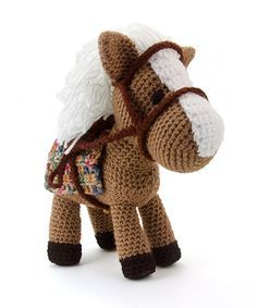 Hector the horse by Lisa Jestes Designs is part of the book Zoomigurumi 4!