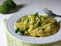 Penne con broccoli a panna - Penne Nudeln mit Brokkoli-Sahnesauce