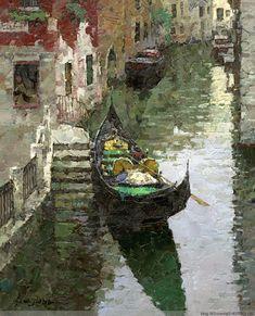 Xiao Song Jiang, 1955   En plein air /Palette Knife painter   Tutt'Art@   Pittura * Scultura * Poesia * Musica  