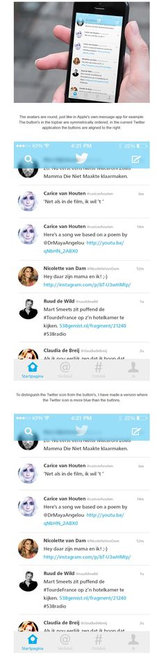 Twitter for iOS7
