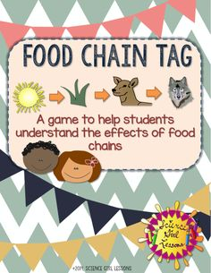 Need an active, creative way to teach food chains and webs? Click the image to find out more! ($)