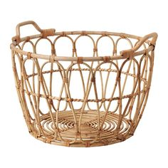 """21 ¼x15 ¼ """" IKEA - SNIDAD, Basket, This braided basket has a unique look since each basket is handmade.You can also use the basket in damp areas such as the bathroom.The"""
