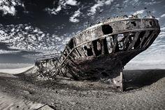 Schiffswrack der Eduard Bohlen