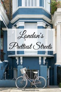 From the Kensington mews to the cobbled lanes in Hampstead, I love the city's quiet corners. Today I bring you my guide to the prettiest streets in London.