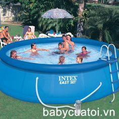 Hồ bơi,bể bơi phao INTEX có lọc nước 56912