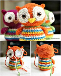 Free Crochet Baby Owl Pattern - 25 Free Crochet Patterns for Beginners step by step – 101 Crochet