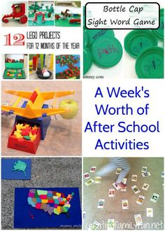 Creative Family Fun: A Week of After School Activities
