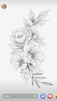 martin has this design available! Si estas interesad@ puedes p… – Flower Tattoo Designs Pati Nuce.martin has this design available! If you are interested you can p - Delicate Flower Tattoo, Small Flower Tattoos, Flower Tattoo Arm, Flower Tattoo Shoulder, Arm Tattoo, Sleeve Tattoos, Small Tattoos, Bone Tattoos, Feather Tattoos